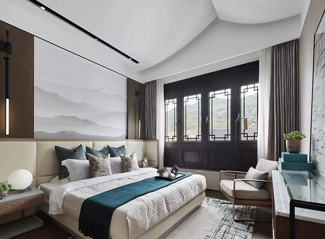 北京诚筑馨家:有一种卧室,叫新中式设计!