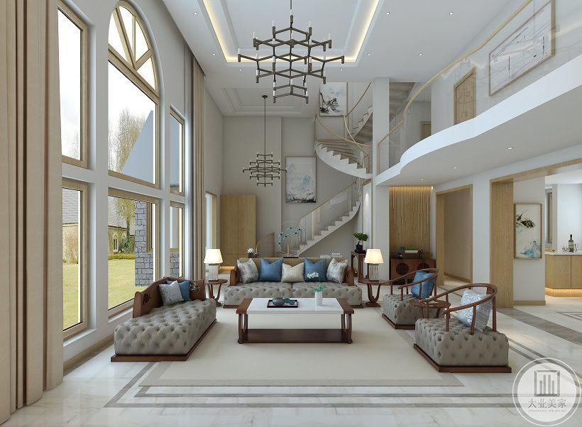 客厅-楼梯间