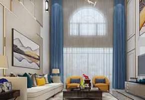 绿洲湾别墅239平现代简约、欧式古典、轻奢装修效果图
