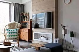 电视背景墙装修方案,33款设计风格,赶紧收好!