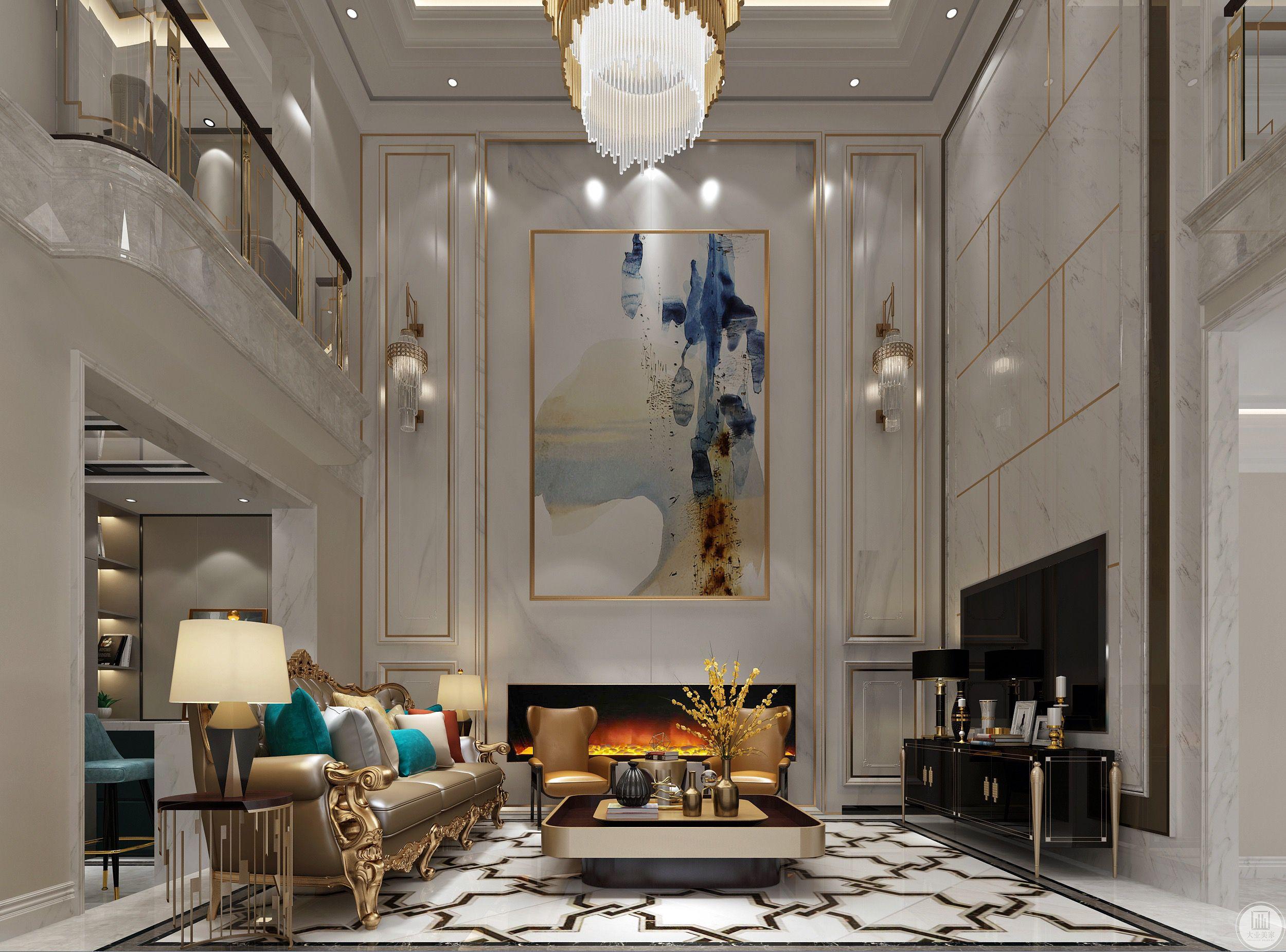 客厅的外观好比人的外表衣着,整洁雅致,而内里的品质臻尚而精致。