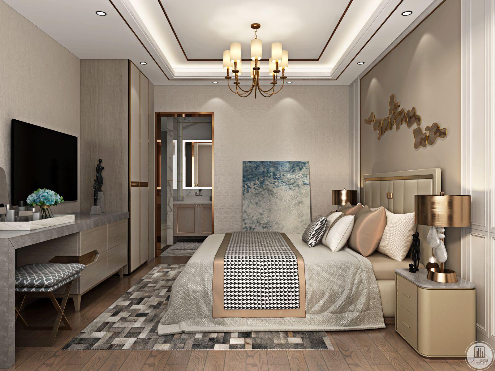 卧室的主要功能虽然是休息,但是很多时候我们会在卧室里工作阅读或者用作休闲娱乐,所以风格也很多变。
