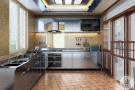 别墅装修厨房装修中,如何选择厨房瓷砖的颜色