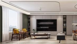 和平村120平新中式+新古典三室装修效果图