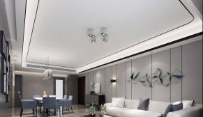 北京紫芳园三室现代简约、北欧110平装修效果图