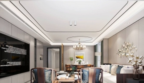 北京和平村三室160平新中式装修效果图