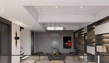 北京禧瑞墅300平别墅现代简约装修效果图