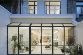 北京装修:一个白房子里面装的却是温暖舒适的家