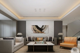 装修中客厅瓷砖颜色的搭配技巧