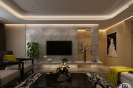 电视背景墙设计及选材