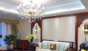 北京华润城170平三室东南亚装修效果图
