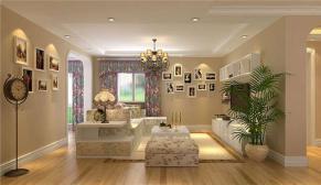 北京都市网景150平二室简欧装修效果图
