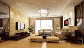 北京塘沽欧风家园三室混搭装修效果图
