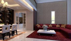 北京新新小镇四室欧式古典、新中式180平装修效果图