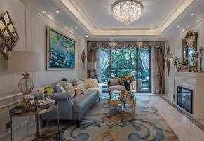 北京西山壹号院280平欧式古典装修效果图