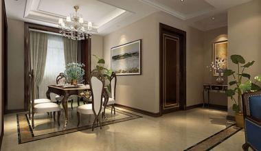 北京泰禾一号公馆东城区新古典265平四室装修效果图