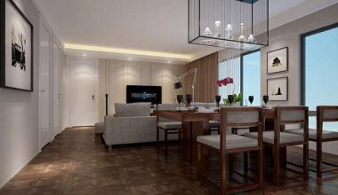 北京芳古园130平两室现代简约、新中式、轻奢装修效果图