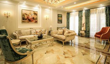 北京御汤山别墅530平欧式古典装修效果图