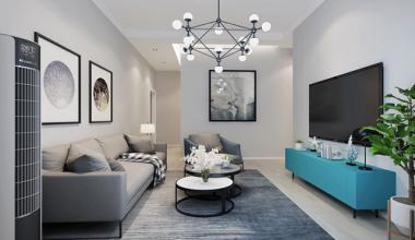 北京顶秀青溪三室现代简约、简欧装修效果图